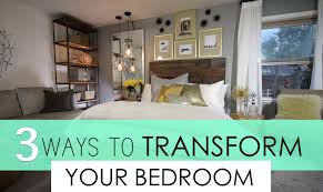 top 3 ways to transform your bedroom decorating youtube