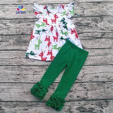 new year baby clothes aicton wholesale children cotton boutique christmas