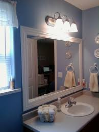 mirror frame ideas bathroom mirror frame kit lowes best bathroom decoration