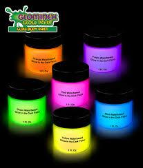 glow paint glominex glow paint 1oz jars assorted 6ct coolglow