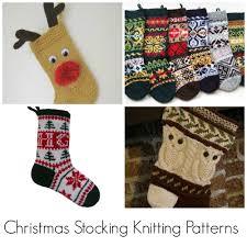 top christmas stocking knitting pattern picks