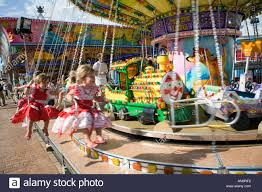 children on a carousel or merry go fuengirola costa