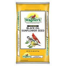 wagner u0027s four season 20 lb black oil sunflower seed 76026 the