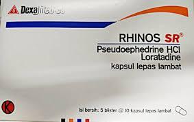 Obat Tremenza rhinos sr kegunaan dosis efek sing mediskus