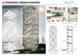 rethinking urban housing archiprix s e a 2012 architecture concept