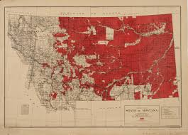 State Map Of Montana by A Map Of Montana Land Designated Under The Homestead Acts 1916