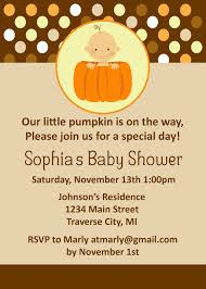 baby shower invitations incredible pumpkin baby shower
