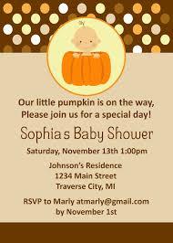 pumpkin invitation baby shower invitations incredible pumpkin baby shower