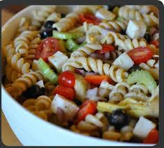 pasta salad blue cheese w italian dressing recipe just a pinch