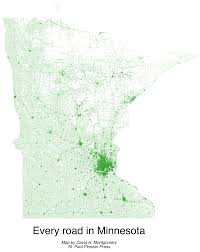 Map Of Minnesota With Cities How Does Minnesota Maintain Its Roads U2013 Twin Cities