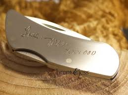 personalized pocket knife personalized pocket knife with the signature of your choice