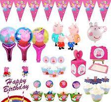 peppa pig birthday supplies peppa pig party ebay