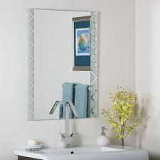 Decor Wonderland Mirrors Best 25 Frameless Beveled Mirror Ideas On Pinterest Beveled