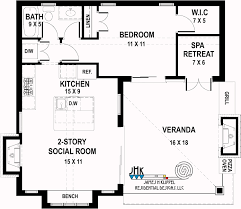 residential home floor plans tiny home plans by klippel residential designs llc