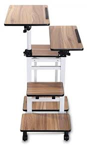 standing desk on wheels details about mobile workstation cart standing desk adjustable table