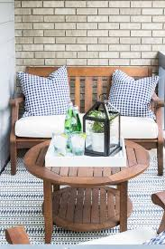 How To Decorate A Patio Best 25 Small Patio Ideas On Pinterest Small Terrace Small