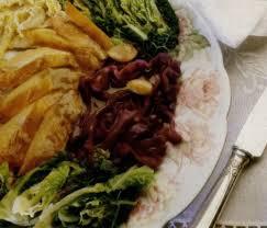 cuisiner une poule faisane recette poule faisane aux deux choux