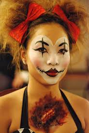 Clown Makeup Ideas For Halloween by 35 Best Clown Make Up Images On Pinterest Make Up Costumes And