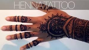 henna tattoo tutorial plus tips u0026 tricks for a dark stain youtube