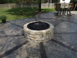 Fire Pit Kits For Sale by Exterior Interesting Lowes Fire Pit Kit For Traditional Patio Design