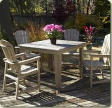 Outdoor Dining Area With No Chairs C R Plastic Products Enjoy Casual Outdoor Dining With