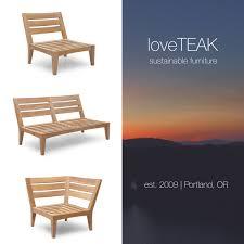 Patio Furniture Portland Oregon Loveteak Warehouse Sustainable Teak Patio Furniture