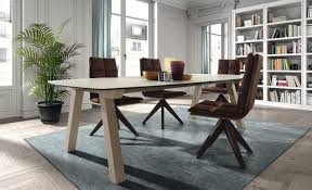 Modern Round Dining Table by Contemporary Dining Table Wooden Round Duero Fix Dressy