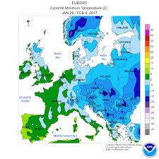 Map Snap Usa Kältewelle In Europa Januar 2017 U2013 Wikipedia
