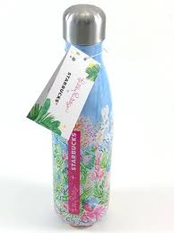 starbucks lilly pulitzer swell swell lilly pulitzer lilly just dropped 3 new swell bottles swell