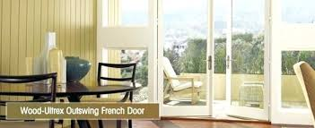 French Patio Doors With Screen by Anderson Outswing French Patio Doors French Inswing Patio Door