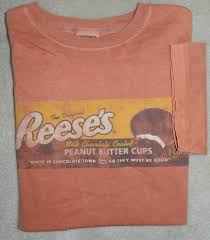 reese peanut butter cup halloween costume retro reese u0027s peanut butter cup t shirt sz small tee vintage look