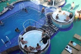 pool and tubs on the norwegian gem norwegian gem pinterest