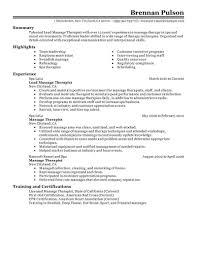 House Cleaning Resume Sample by Sample Resume For Therapist Resume For Your Job Application