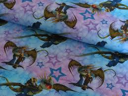 toothless etsy how train your dragon cotton lycra jersey knit fabric seller