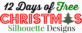 12 free silhouette designs silhouette store launches 12 days of