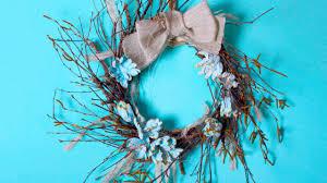 twig wreath diy twig wreath tutorial