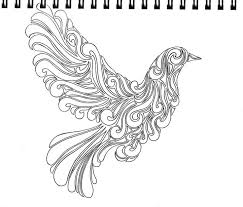 abstract pigeon sketch by moon lilly deviantart com on deviantart
