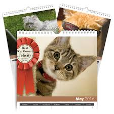 personalized cat gifts personalized cats calendar signature gifts