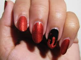 the super secret nail blog easy halloween nail art orange and