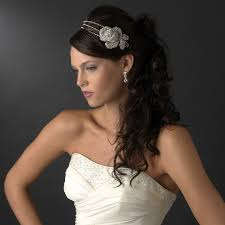 bridal headbands vintage flower bridal headband bridal hair accessories