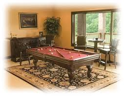 what is the height of a pool table what is the size of the rug under the pool table love it pool table
