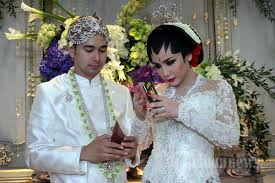 wedding dress nagita slavina akad nikah raffi ahmad dan nagita slavina foto 9 1377662