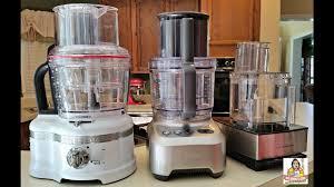 ultimate food processor review part ii cuisinart kitchenaid