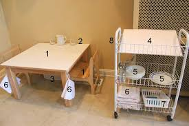 Toddler Feeding Table by Self Feeding Montessori On The Double
