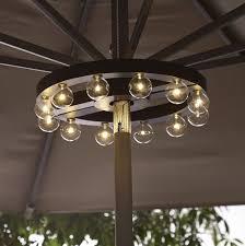Rectangular Patio Umbrella With Solar Lights by Rectangular Patio Umbrella With Solar Lights Home Design Ideas