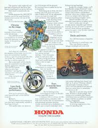 american honda motor co inc honda motorcycles advertisement gallery