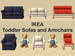 Toddlers Armchair Mod The Sims Ikea Toddler Armchairs And Sofas