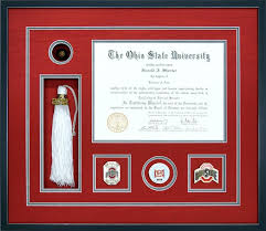 ohio state diploma frame gallery awards certificates and diploma exles