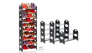 30 pair shoe cabinet shoe rack 30 pairs tall 50 off