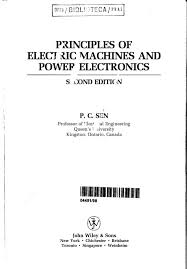 downlad principles of electrical machines and power electronics